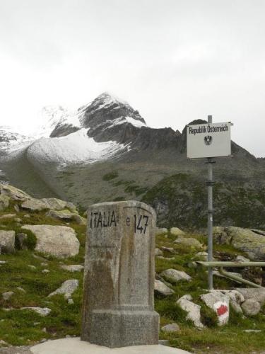 Na hranici mezi Itálií a Rakouskem