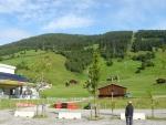 Lyžařské středisko v Gerlospassu.
