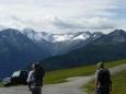 Zasněžené Zillertalské Alpy a lehká vzpomínka na Ahorn.