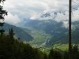Pohled do údolí Zillertal