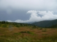 Pohled na odcházející bouřku.