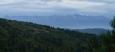 Když ty nejošklivější mraky přešly, bylo vidět i na Vysoké Tatry. Alespoň jednou za celý vandr.