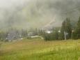Poslední pohled na Čertovicu, než se definitivně zahalí do mraků.