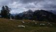 Kotova špice přes planinu nad Slamem.