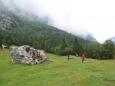 Planina, kde jsme opět trochu bloudili.