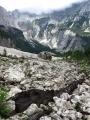 Několik fotek je ze sestupu do doliny Tamar a zpětného výstupu do sedla Vratica přes hřeben Slame.