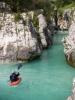 Kańon nad kempem Klin je vodáckým rájem