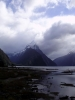 Mitre Peak v celé své kráse. Milford Sound