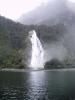 Začátek plavby po Milford Sound