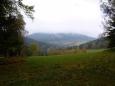 Výhled k hoře Křemelná.