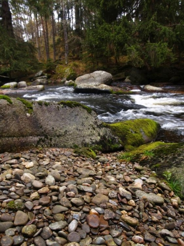 Proč je jméno řeky Křemelná?