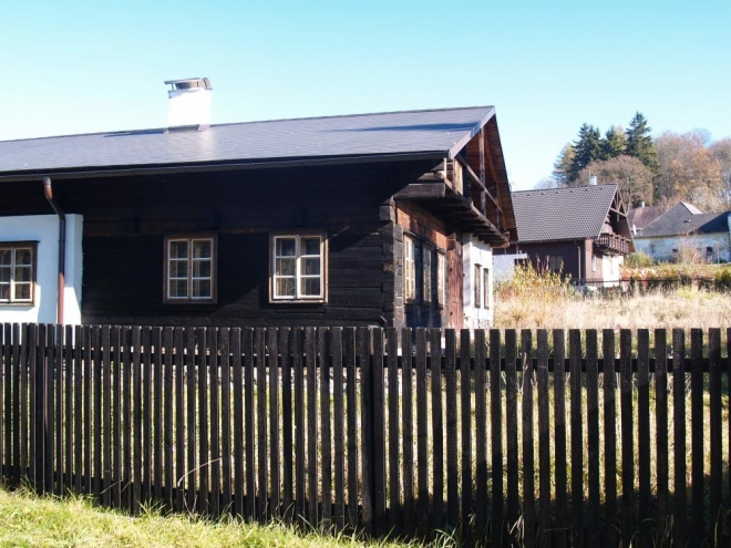 Volarské Alpské domy.