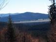 Výhledy k Dobré a Stožci (1 065m).