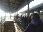 Na nádraží v Českých Budějovicích