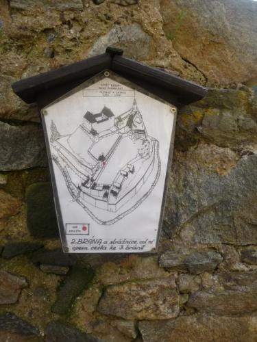 Mapka Dívčího kamene