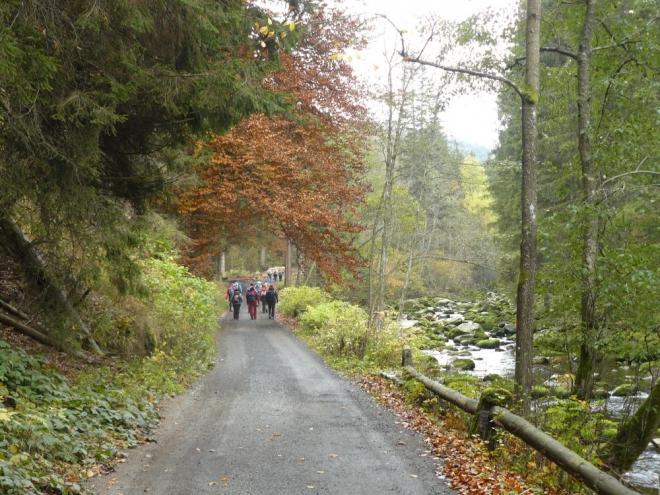 Cestou kolem Vydry