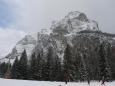 Čestvě pocuk ... ale dost klišé, čerstvě zasněžený masiv Monte Civetty.