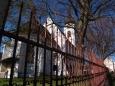 Kostel v Horním Dvořišti je dominanta celé vesnice.