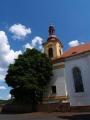 Klášter servitů s kostelem Panny Marie Sedmibolestné.