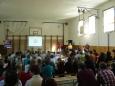 Zahájení mezinárodního kola Baltíka 2011. Dětí skutečně hafo.