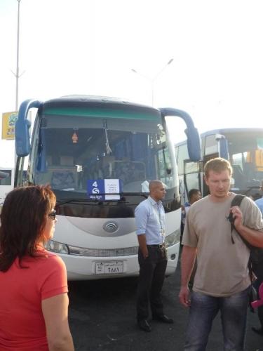 Náš autobus do hotelu