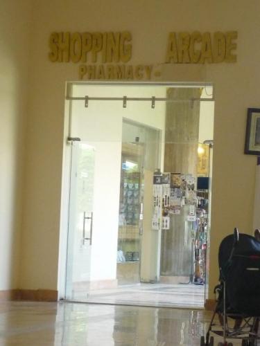 Obchody v hotelu