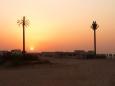 První západ slunce