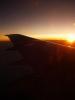 Východ slunce z letadla