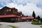 Kolínská bouda je vyhlášená, od ní již jdeme k Černé hoře.