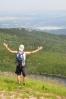 Luděk se snaží vznést nad jezero Wielki Stav.