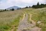 Starou Bucharovo cestou jdeme k vyhlídce Krakonoš.