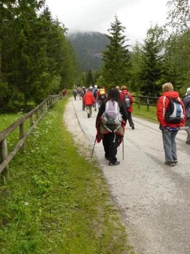 Cesta k chatě Rotwandwiesenhütte