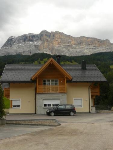 Pohled na Heiligkreuzkofel