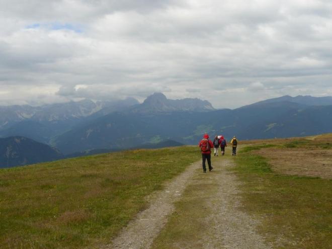 Hory poblíž Kronplatzu