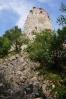 Dívčí hrady jsou zříceninou s velmi starou minulostí. Hrad byl na ostrohu skály vystavěn již v roce 1222.