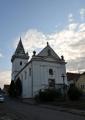 Kostel svaté Barbory, konečně z myší perspektivy.