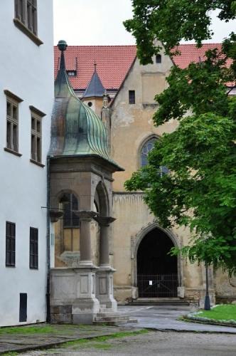 Levoča má krásné a velké náměstí. Píše se, že je jedno z největších v Evropě.
