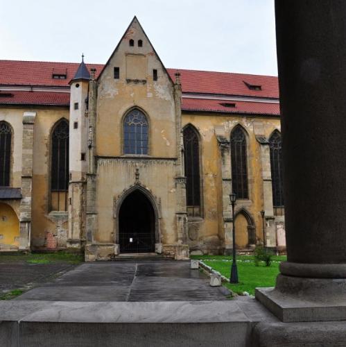 Stránky města, ze kterých čerpám, nedávají možnost pojmenovat tento kostel.