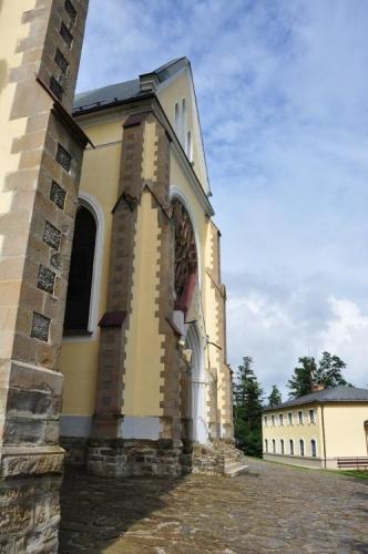 Začátkem července sem putují desetitisíce věřících z celého Slovenska.