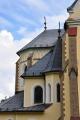Zajímavá architektura baziliky.