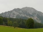 Rötelstein, na nějž jsme se další den dopoledne škrábali. Nicméně takový pěkný vrchol za to určitě stojí.