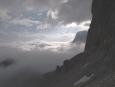 Kousek nad mraky, seděly asi ve 2400 metrech. (Radim)
