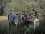 Skupinové foto před započetím cesty na východ. Zleva: já, Pavel, Tom, Zdeňka, Radim (Radim)