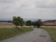 Sjezd ze Svratecké hornatiny směrem na Boskovice, kde bude vytoužený oběd. (Radim)
