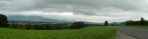Výhled po vyšlapání na naši severní objížďku Beskyd. (Tom)