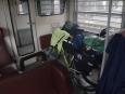Kola uložená ve vlaku do Ostravy (Radim)