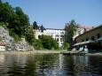 Blíží se i Krumlovský zámek a hrad.