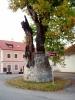 """Strom jako """"socha mistra Přírody""""."""