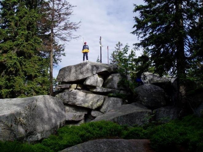 SROVNÁVACÍ FOTO 2004: vrchol Plechýho