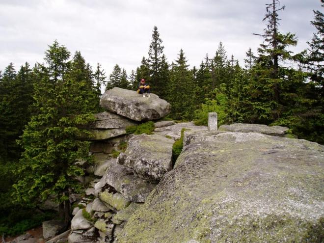 SROVNÁVACÍ FOTO 2004: Trojmezná hora